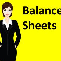 Balance Sheets sq